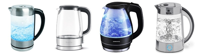 Electric Glass Kettles Comparison