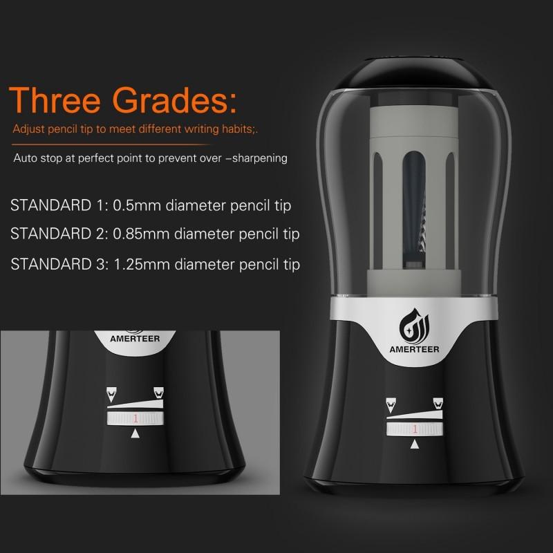 Amerteer Electric Pencil Sharpener Review