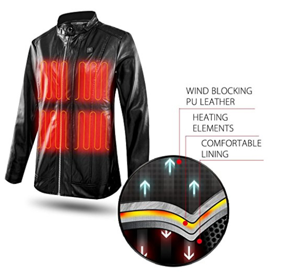 Climix Slim Fit Women Heated Jacket Review