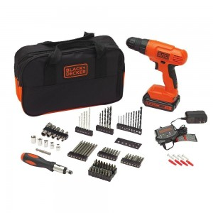 BLACK+DECKER BDC120VA100 Drill Kit