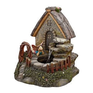 Fairy Garden Village  Water Fountain