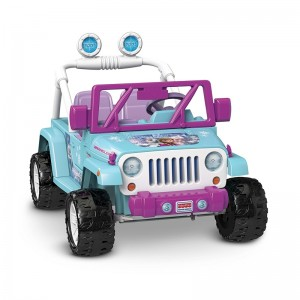 Fisher-Price Power Wheels Disney Frozen Jeep