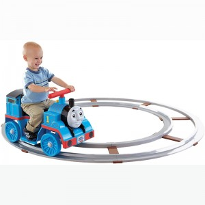 Fisher-Price Power Wheels Thomas with Track