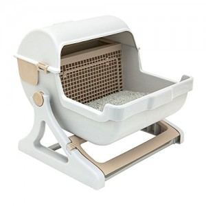 Le you pet Semi-Automatic Cat Litter Box