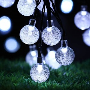 N/A Christmas Solar String Lights - Globes