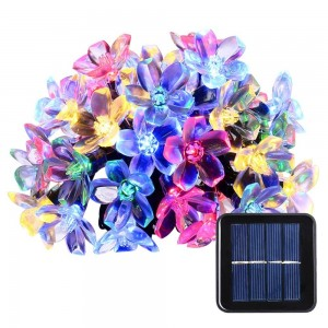 N/A Solar Christmas String Lights - Blossoms