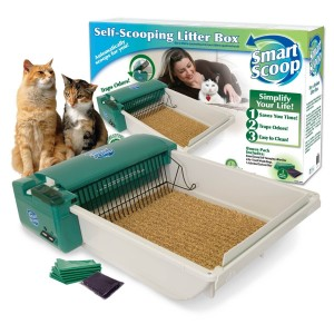 SmartScoop Self-Scooping Cat Litter Box
