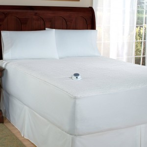 Micro-Plush Heated Mattress Pad