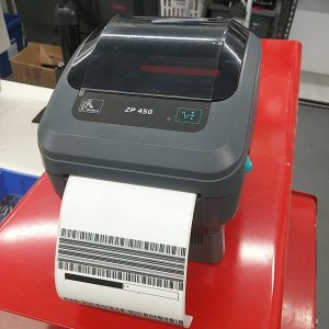 Zp 450 Thermal Label Printer